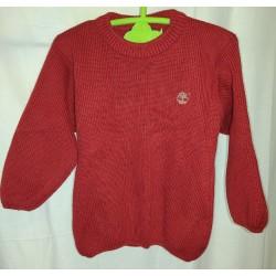 Camisola de malha vermelha...