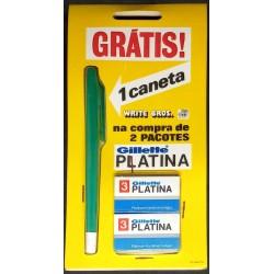 Conjunto Gillette Platina