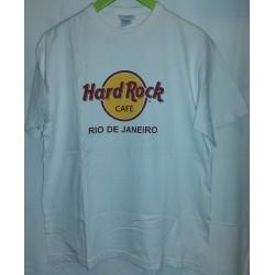T-shirt Branca Hard Rock...