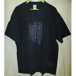 T-shirt preta You are Dumb...