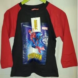 Camisola preta e vermelha...
