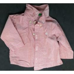 Camisa de criança salmão 3...
