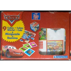 Conjunto de Jogos Cars