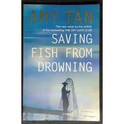 Amy Tan Saving Fish from...