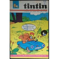 Tintin 1º ano nº 17 21-9-1968