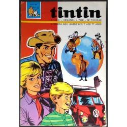 Tintin 3º ano nº 22 24-10-1970