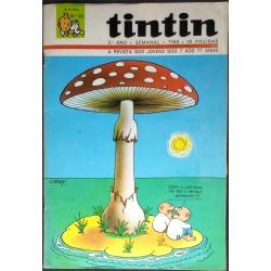 Tintin 3º ano nº 20 10-10-1970