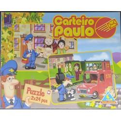 Puzzle Carteiro Paulo 2X24...