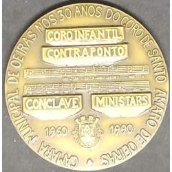 Medalha 30 anos do Coro de...