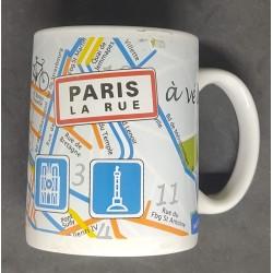 Caneca Paris La Rue
