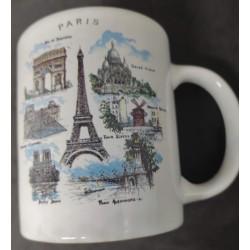 Caneca Paris monumentos