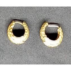 Brincos dourados Mola