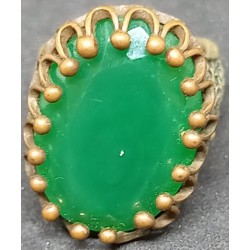 Anel pedra Verde