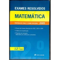 Exames Resolvidos Matemática