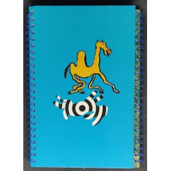 Caderno espiral pautado e...