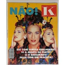 Revista Capa K Janeiro 1992