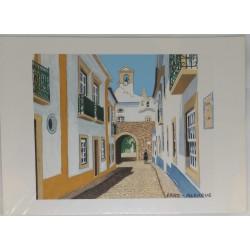 Gravura Faro/Algarve