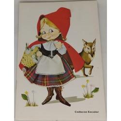 Caderno Escolar Capuchinho...