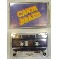 Cassete áudio Canta Brasil