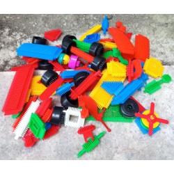 Conjunto peças construção