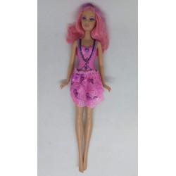 Boneca Barbie cabelo rosa