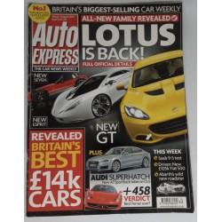 Revista Auto Express...