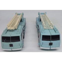 2 camiões azuis Transformers