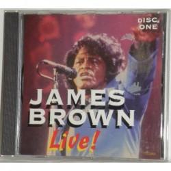 James Brown, Live