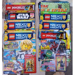 7 revistas Lego
