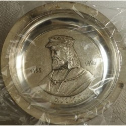 Prato em Metal D. João II...