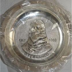 Prato em Metal D. Fernando...