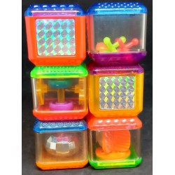6 cubos Fisher Price