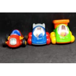 3 carros miniatura Chicco