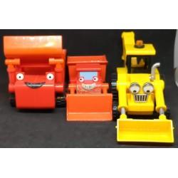 3 viaturas Bob o Construtor