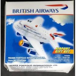 Avião miniatura em plástico...