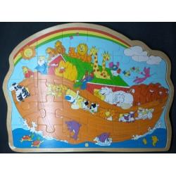Puzzle em Madeira Arca de Noé