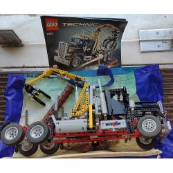 Lego Technic 9397 Logging...