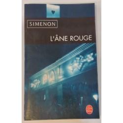 Simenon L'Âne Rouge