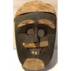 Máscara em Madeira com...